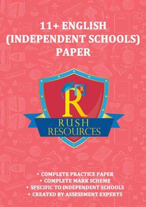 11+ english paper